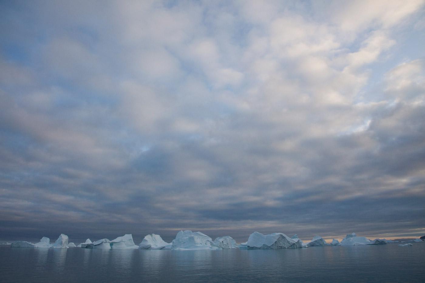 Icebergs around Isortoq 2