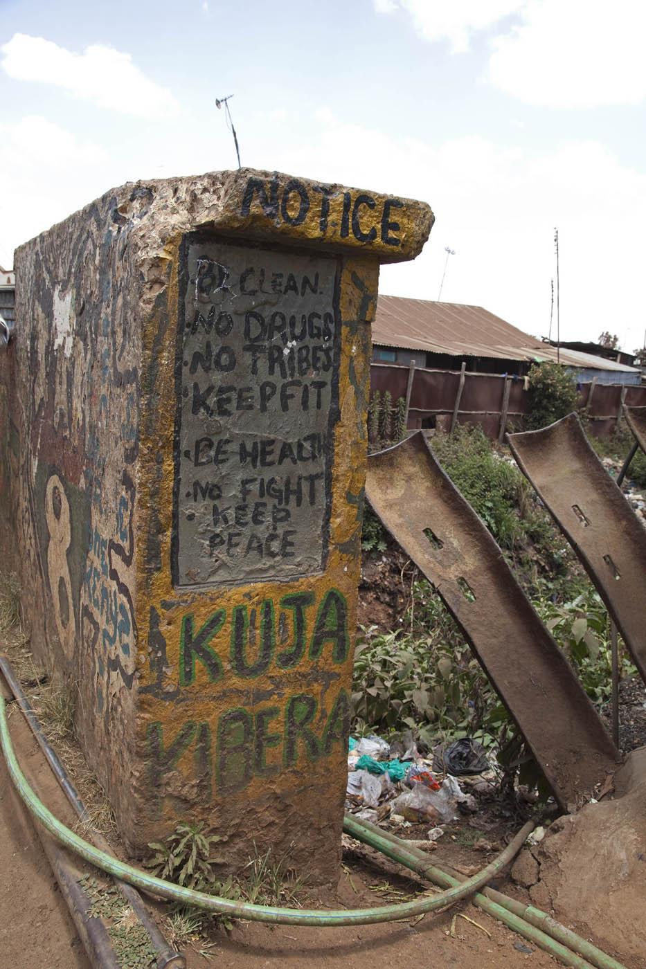 The Bridge in Kibera