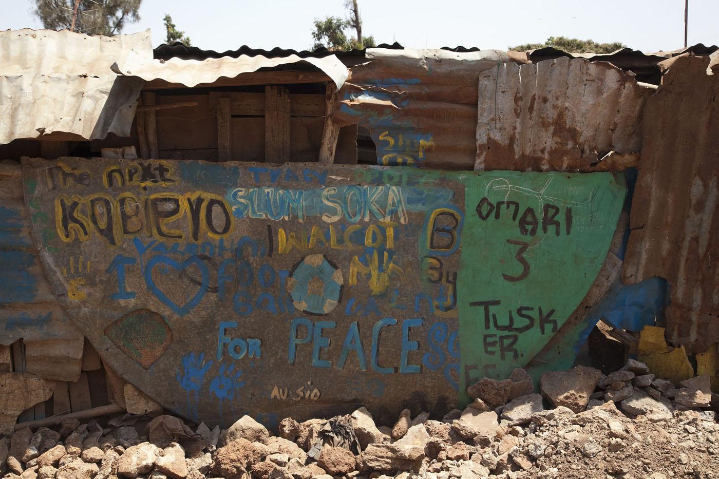 Streetart in Kibera 2