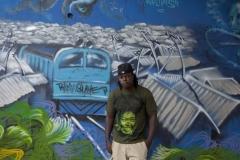 Streetartist Bankslave
