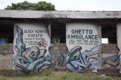 Streetart in Kibera 1