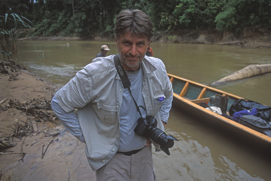 Torben Ulrik Nissen in The Amazon, taken by Sam Abell
