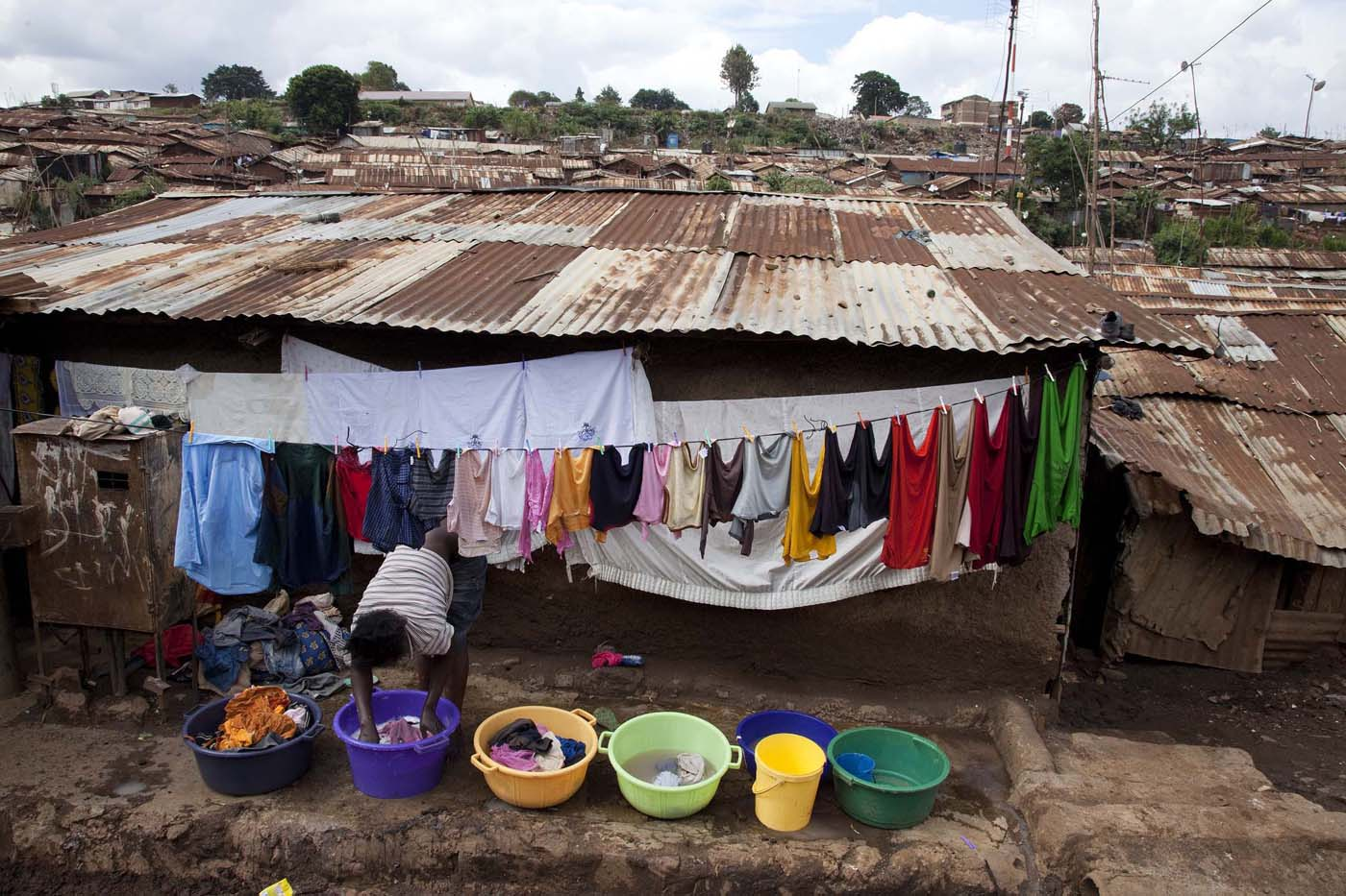 Kibera – a slum area